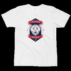 LTS Peoria Pumas White Logo T-shirt 2020
